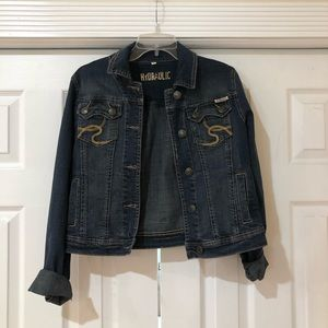 Hydraulic Jean jacket